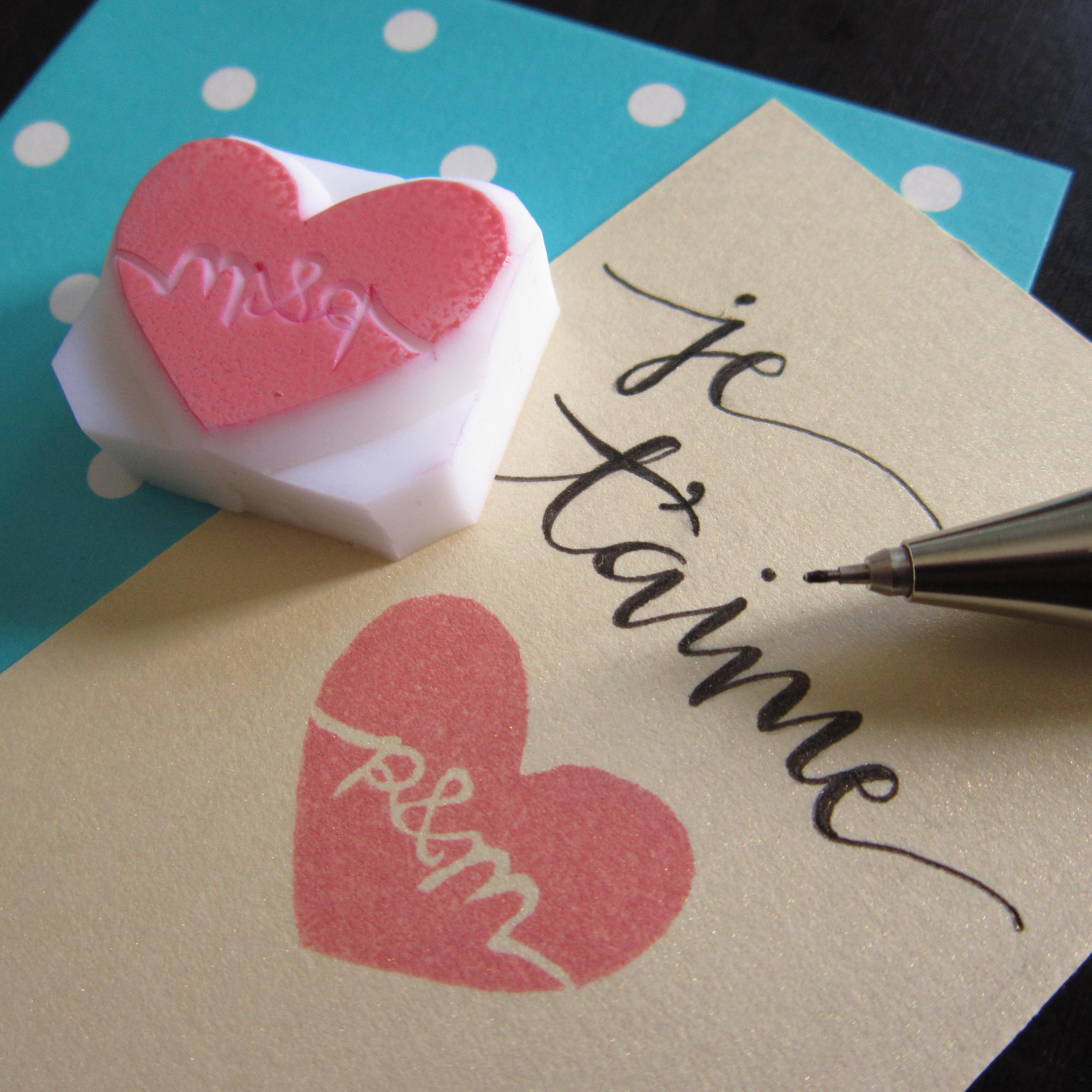 Handmade custom rubber stamps a singapore craft blog for Custom craft rubber stamps