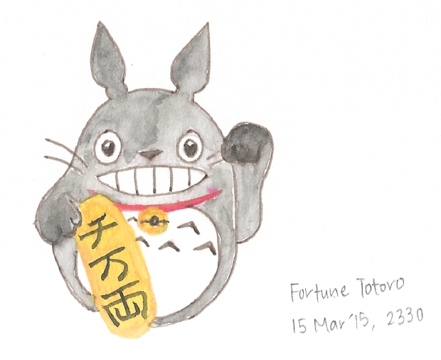 My Fortune Cat Totoro!
