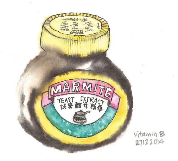 Sketch of Marmite