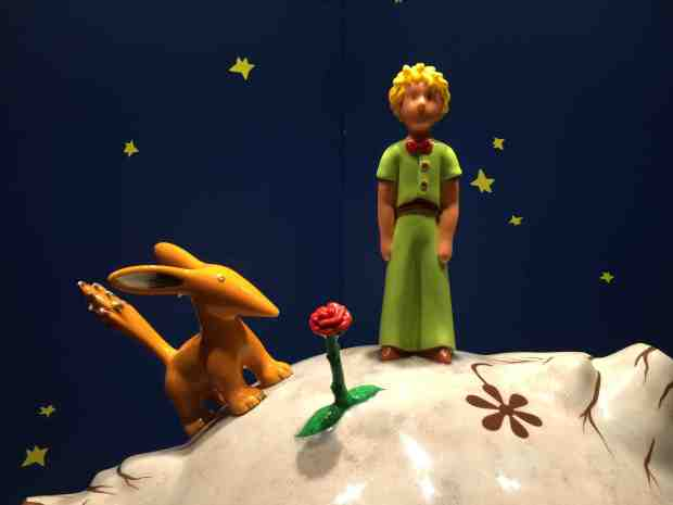 Little Prince, the Fox and the Rose